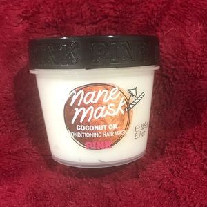 VS PINK coconut oil conditioning hair mask